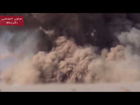 footage of IRGC presion UCAV and missile attacks on ISIS terrorists - Full HD
