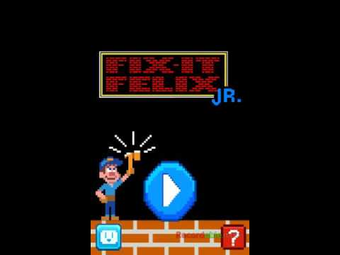 Wreck it Ralph game for android (part 1)