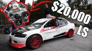 LS SWAPPED EVO DRIFT CAR!