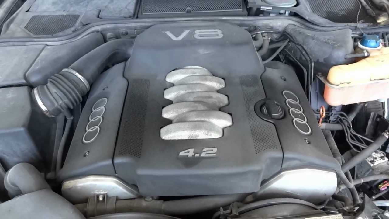 1999 Audi A8 42L engine with 108k miles  YouTube