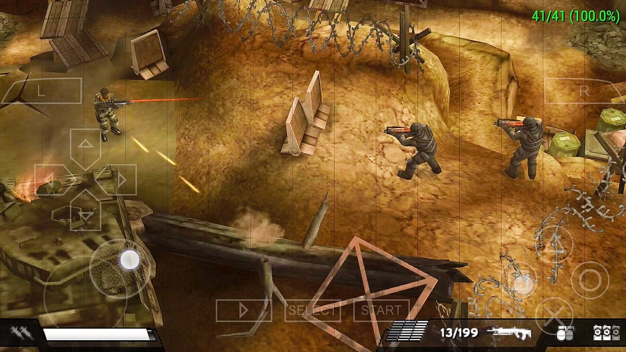 Killzone Liberation PSP Play on PPSSPP Android - YouTube