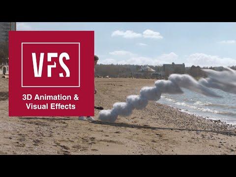 A Visual Effects Reel by Anders Elmholdt: Vancouver Film School (VFS)