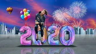 PicsArt Tutorial Happy New Year 2020 Editing