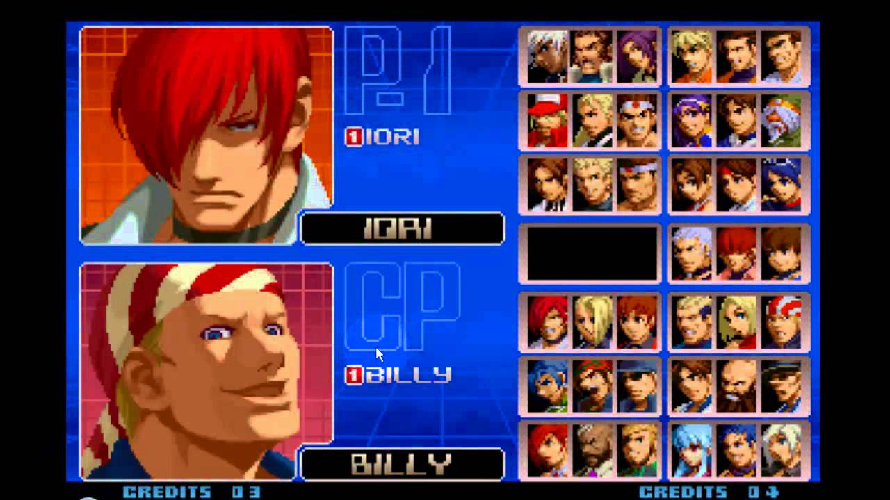 PARA BAIXAR 2002 THE FIGHTERS KING OF PCSX2
