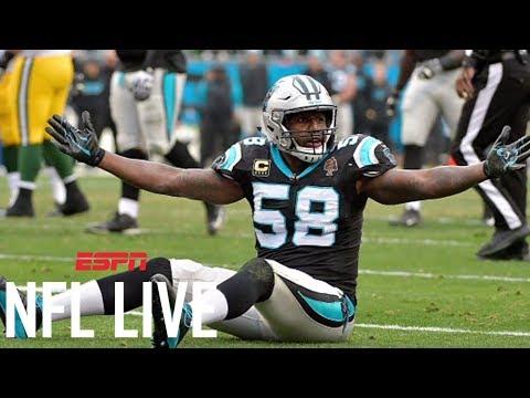 Thomas Davis suspended two games for hit on Davante Adams | NFL Live | ESPN