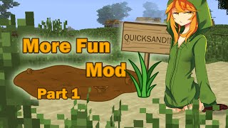 Minecraft 1.7.10 - More Fun Quicksand Mod Review Part 1