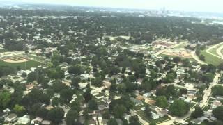 American Airlines Flight 5028 Landing at Omaha Eppley Airfield 2015 06 22