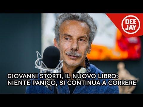 """Giovanni Storti parla del suo nuovo libro """"Niente panico, si continua a correre"""""""