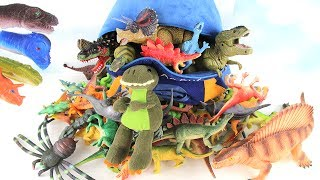 New My Dino Bag Collection - Jurassic World Dinosaur Toys - Full Set 2017 for Kids