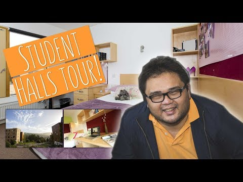 LIVING ON TREFOREST CAMPUS!   Tour of our Uni Halls