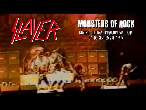 SLAYER - Monsters Of Rock | Estación Mapocho (01-09-1994)