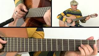 Latin Guitar Lesson - Venezuelan Merengue - Breakdown - Jesús Hernández
