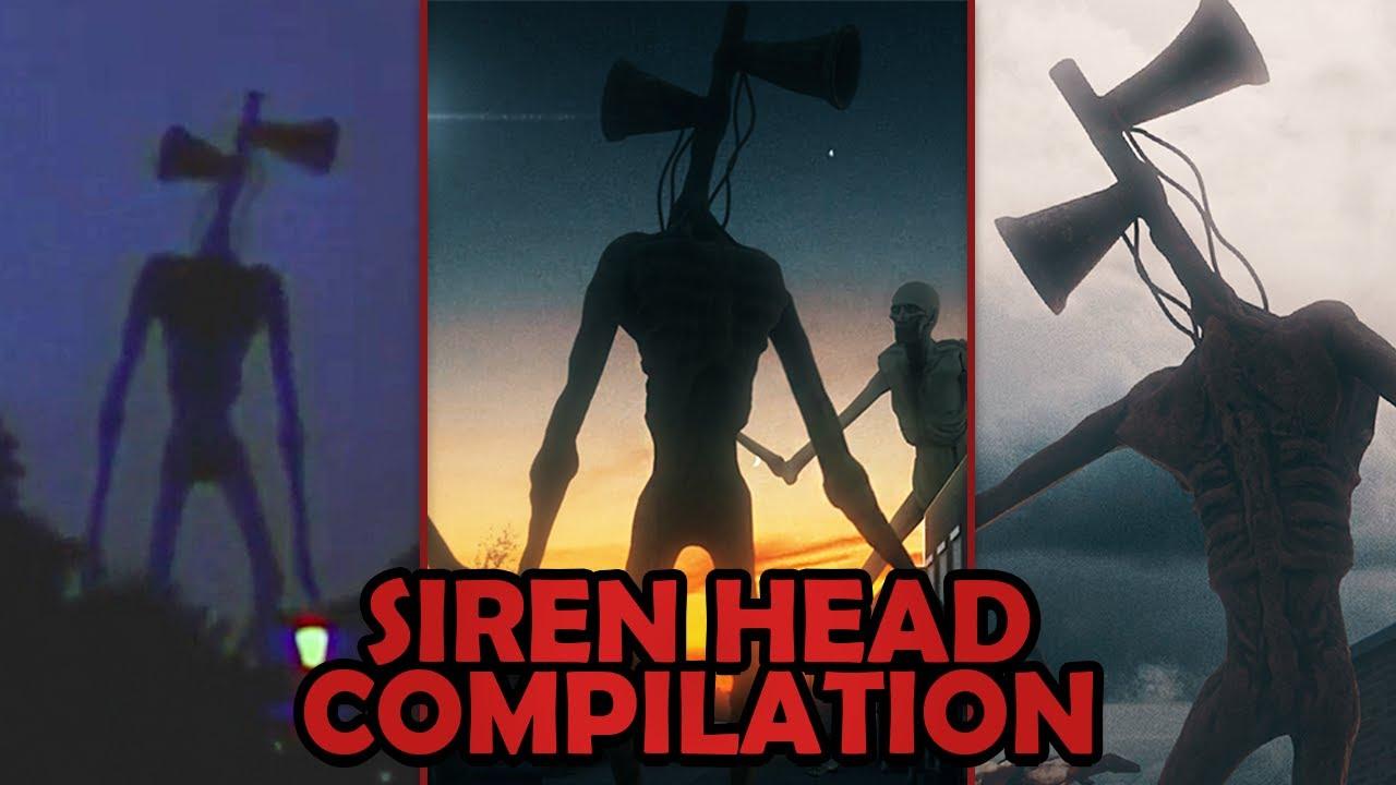 Siren Head is everywhere...   Siren Head Compilation