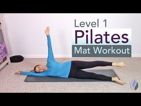 Level 1 Pilates Mat Class | 15 Minute Pilates Workout at Home