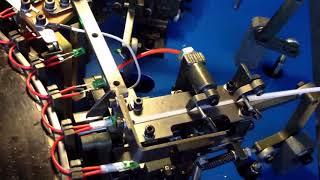 Automatic Christmas lights soldering machine , Automatic LED soldering machine
