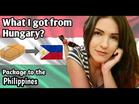 WHAT I GOT FROM HUNGARY TO THE PHILIPPINES?