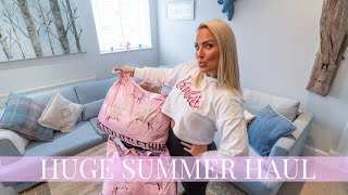 HUGE SUMMER TRY-ON HAUL | VACATION OUTFIT IDEAS | PRETTYLITTLETHING 2019