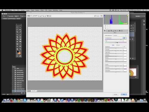 Oshop Cc How To Change The Color Of Smart Object Custom Shapes