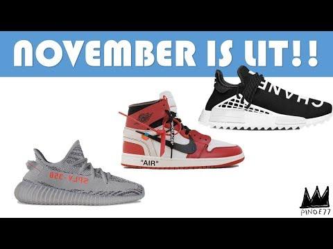 NOVEMBER IS LIT!! OFF-WHITE, DOERNBECHER, CHANEL & MORE!