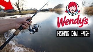 Wendy's Fishing Challenge!! (Craziness)