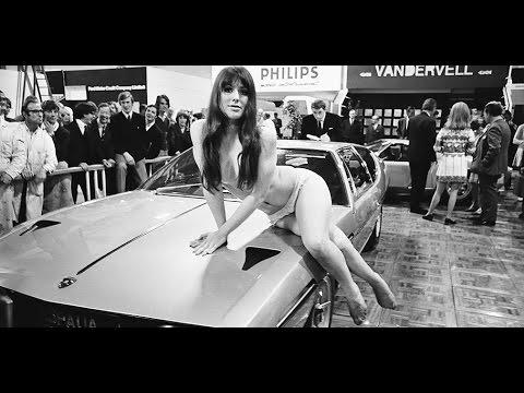 Какими были девушки на авто-шоу в 60-70 годах 20 века