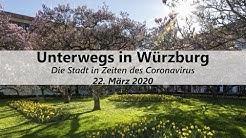 22.03.2020 | Würzburg in Zeiten des Coronavirus | Unterwegs in Würzburg | www.wuerzburg-fotos.de