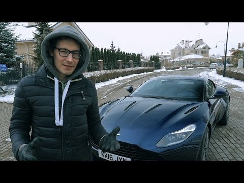 Тест-драйв суперкара Aston Martin DB11