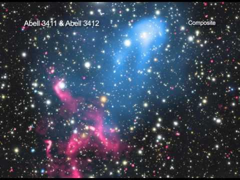 'Smashing' Galaxy Clusters Released 'Amazing Amounts of Energy'   Video