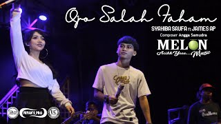 Download Mp3 Ojo Salah Faham - Syahiba Saufa Ft James Ap \\ Melon Music  Live  Pemuda Gintang