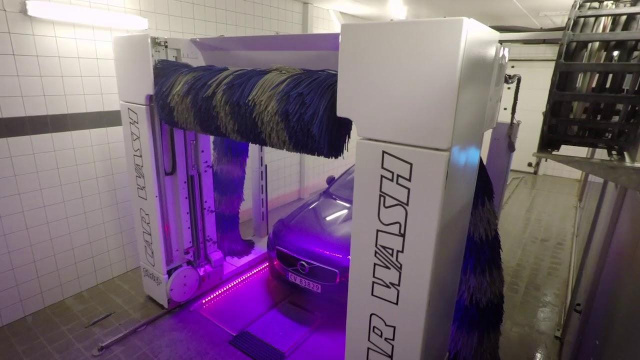 vaskehall med støvsuger