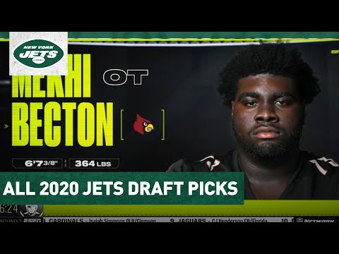 Every Pick By The Jets In The 2020 NFL Draft | New York Jets | NFL