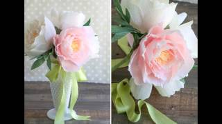 Оригинальные цветы из гофрированной бумаги своими руками(Сегодня вы увидите замечательно красивые цветы из гофрированной бумаги своими руками. Цветы можно сделать:..., 2015-11-15T08:24:00.000Z)