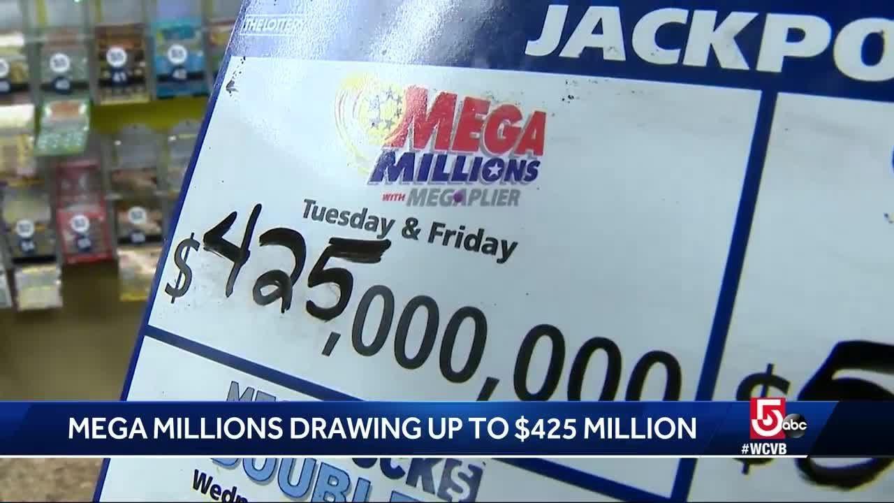 Mega Millions drawing almost half a billion dollars - YouTube