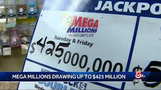 Mega millions drawing almost half a billion dollars