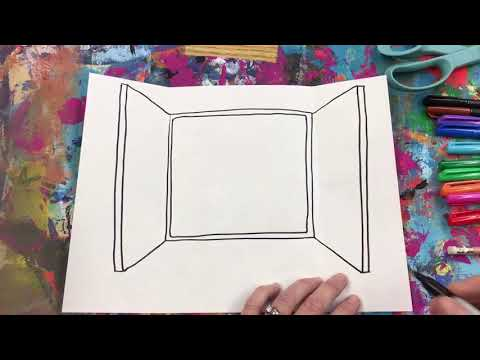 Henri Matisse: Open Window Drawing