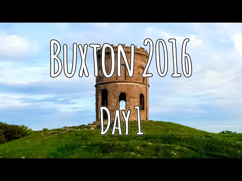 Buxton 2016 | Day one | Setting up, A Walk and a Sunset