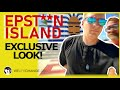 Independent Reporters Storm Epstein's Private Island with Cameras