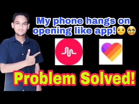 My phone hangs on opening musically | like app| Problem Solved