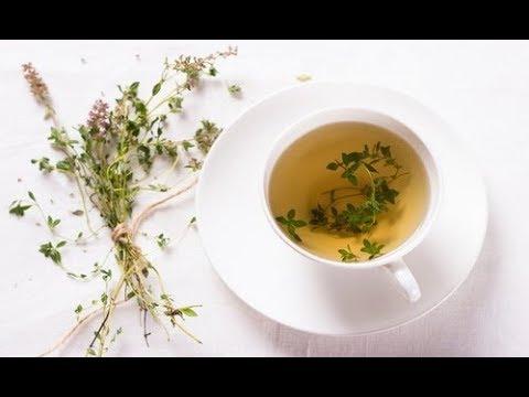 Чай из чабреца,тимьяна
