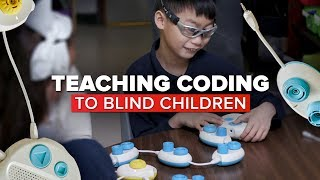 New tech teaches coding to children who are blind