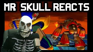 💀 Mr. Skull Reacts To Flame Hyenard From Mega Man X7