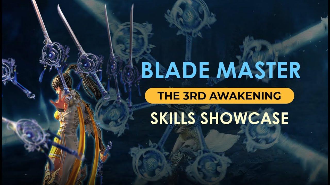 [Blade & Soul] Blade Master – New 3rd Awakening Skills (In Development)