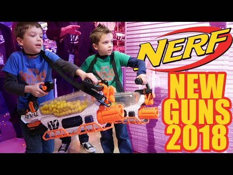 Twin Toys Reveals ALL NEW 2018 Nerf Guns