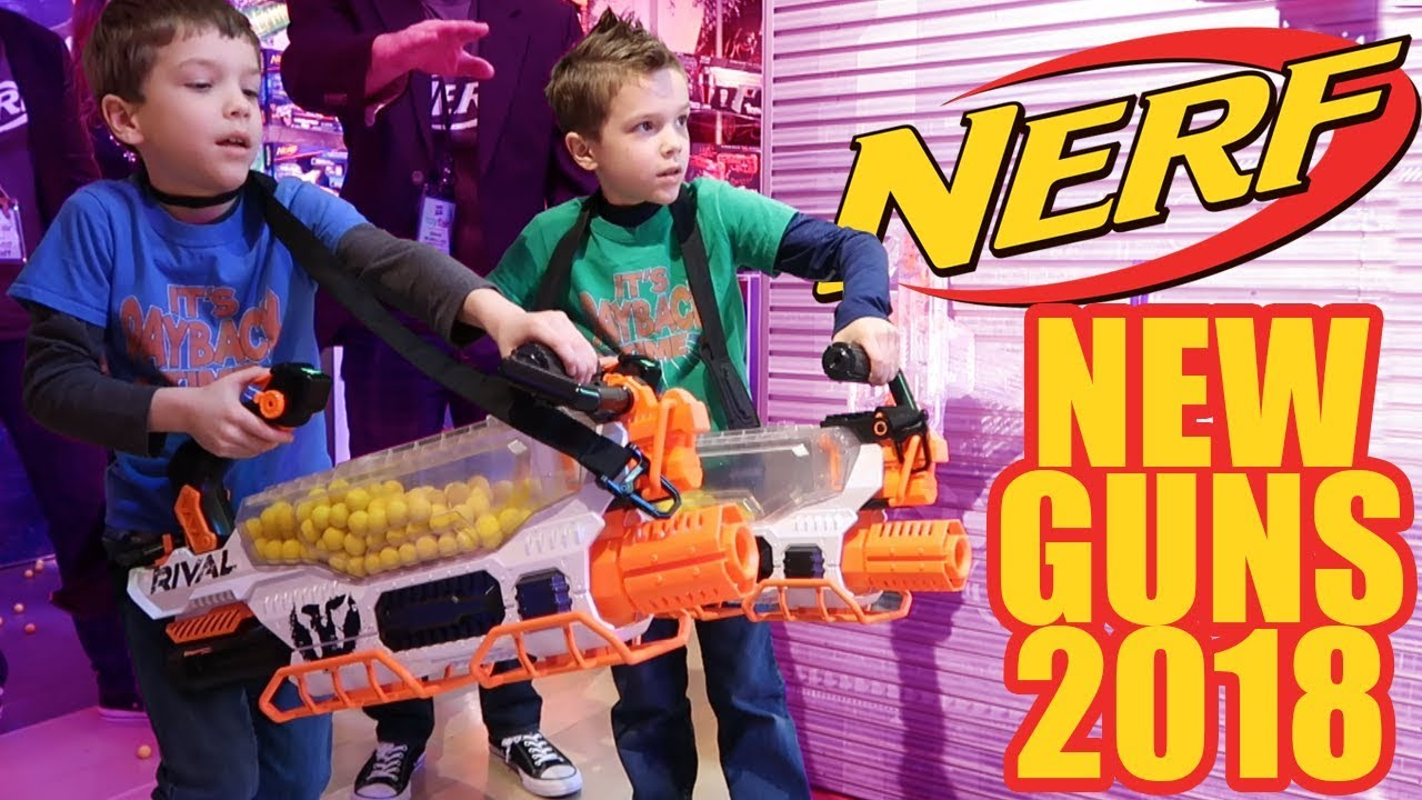 Twin Toys Reveals ALL NEW 2018 Nerf Guns - YouTube