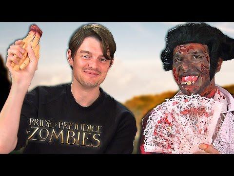 PRIDE  PREJUDICE  ZOMBIES = Fun with Sam Riley