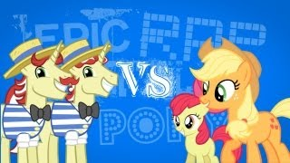 Epic Rap Battles of Pony - Flim Flam Bros VS Apple Sisters