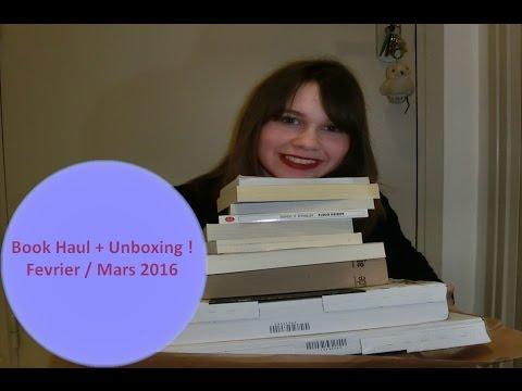 Book Haul #3 + Unboxing !