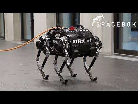 Space Bok - The Jumping Robot for Space Exploration
