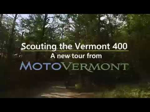 Scouting the Vermont 400 Dual-Sport Tour