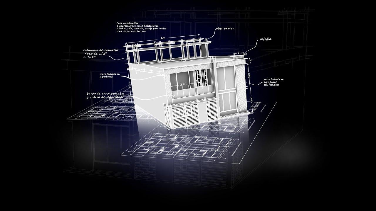 Super tutorial sketchup infografia oclussion presentacion for Infografia arquitectura